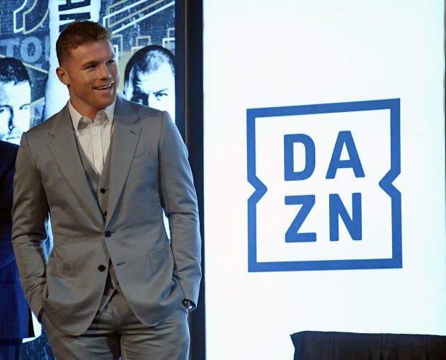 DAZN split from Canelo Alvarez earlier this year but the Mexican boxer is back on the service this month