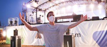 DJ Felix Jaehn Performs At BonnLive Drive-In Concert