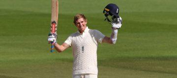 Kent batsman Zak Crawley hit 267 for England against Pakistan in a breakthrough Test innings over the summer
