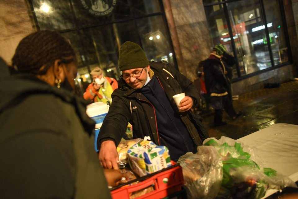 Homelessness Rises In London During Pandemic