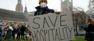 Hospitality Industry Demonstration In London