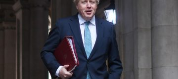 Ministers Attend Weekly UK Government Cabinet Meeting