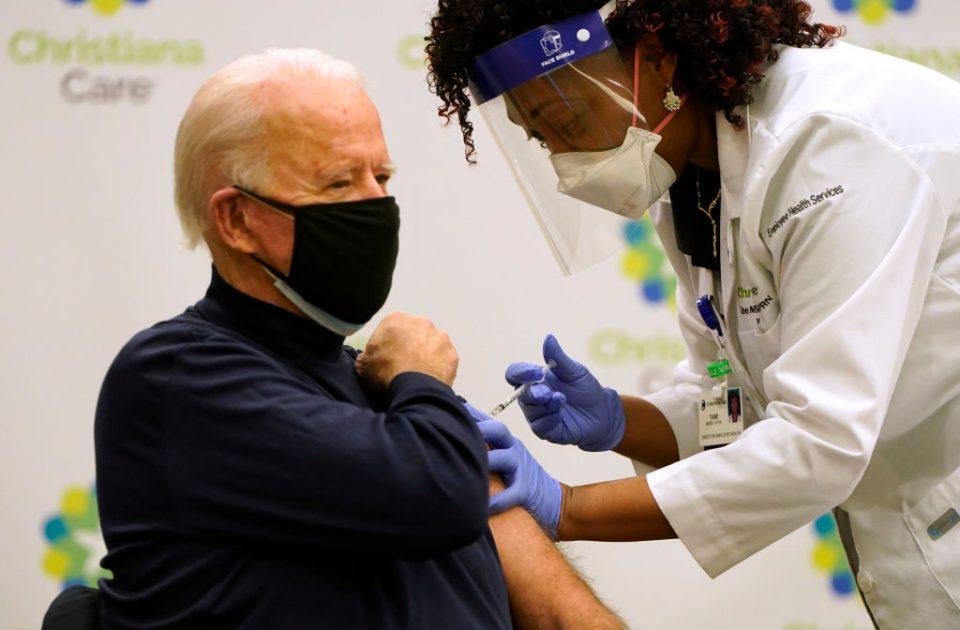 President-Elect Biden Receives COVID-19 Vaccination