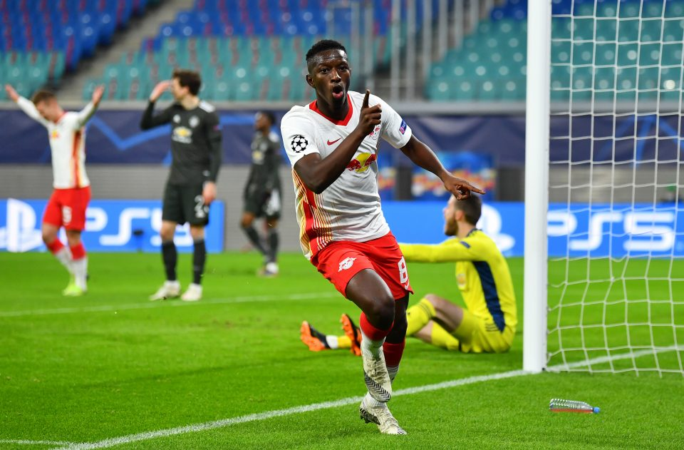RB Leipzig, who knocked out Manchester United in the group stage, were paired with Liverpool in the Champions League draw
