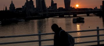 Return Of London Office Workers Remains Slow Despite Government Urging