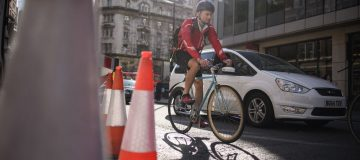 Safety For Cyclists Challenged On London's Busy Roads