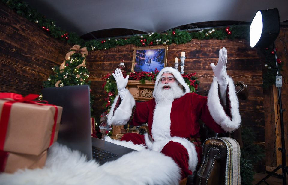 Santa Claus Zooms In To Living Rooms This Christmas
