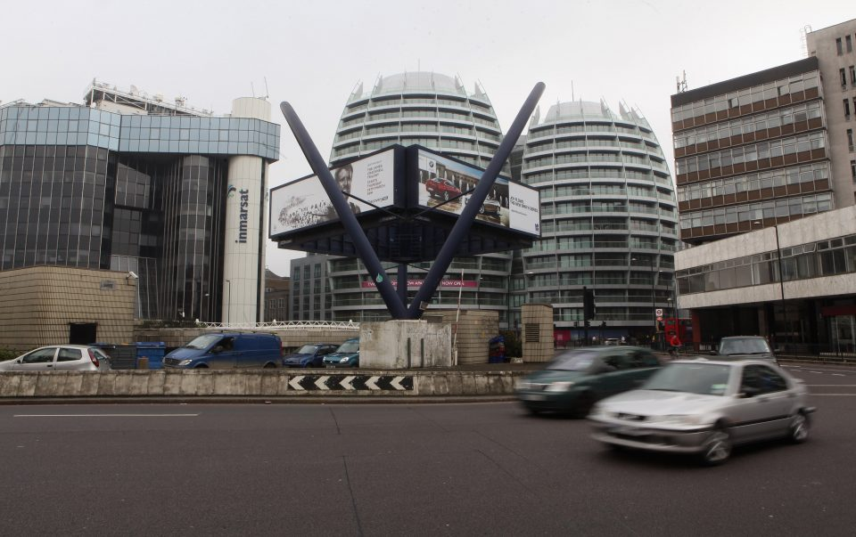The Silicon Roundabout In Old Street