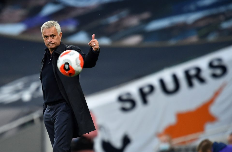 Jose Mourinho has cut a happier figure as Tottenham's fortunes have improved this season