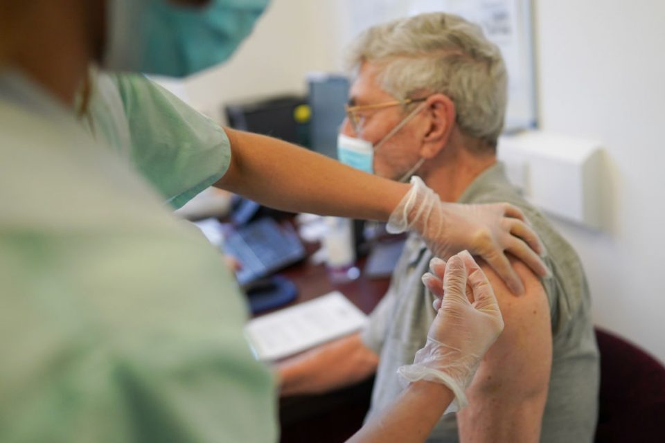 Vaccine Rollout Continues In GPs' Surgeries Across The UK