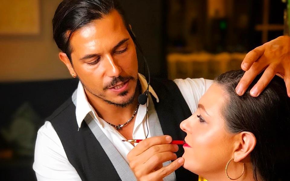 Fortunato Benavoli, 39, a London-based make-up artist
