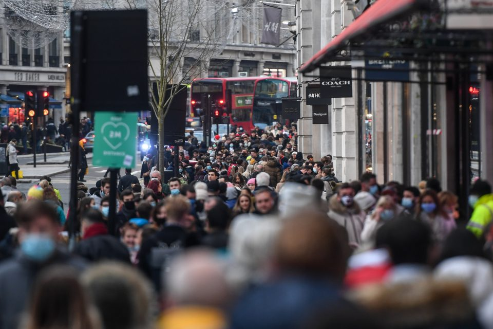 People rushed back to the country's shopping destinations this weekend as people welcomed the end of lockdown with some much needed retail therapy.