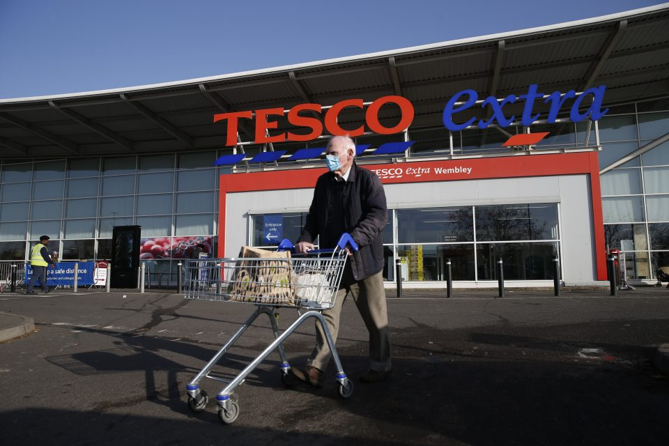 Tesco to repay £585m in emergency support with Covid risks 'behind us'