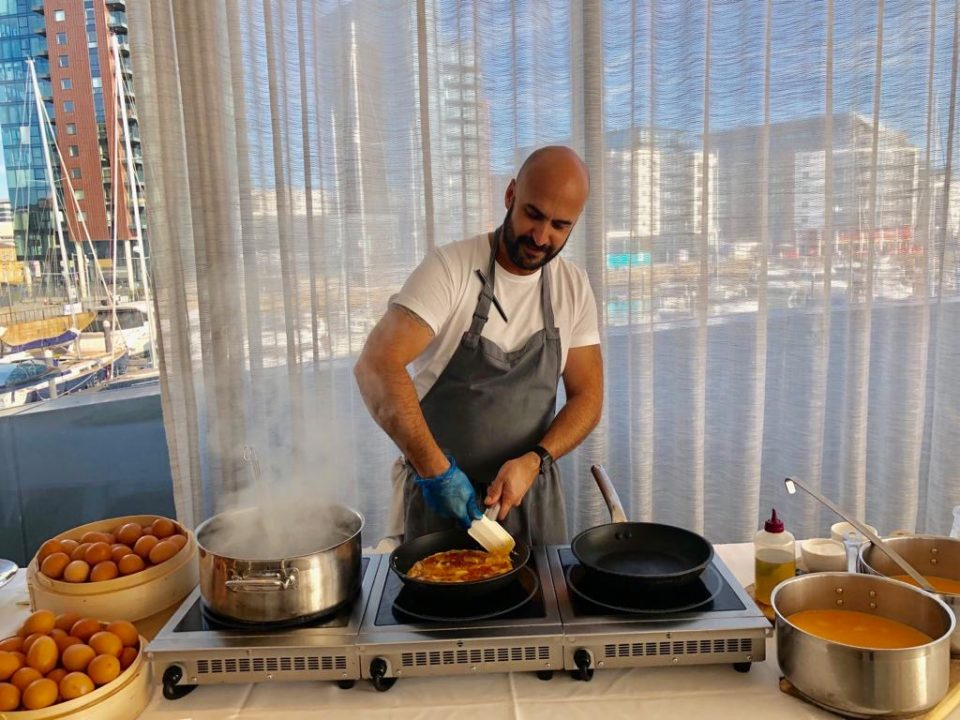 Omar Meziane is chef to the England football team and is set to launch his own meal delivery service, Tweakd