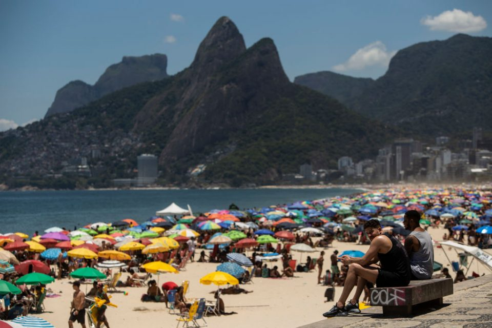 A General view of Rio de Janeiro During the Municipal Elections Runoff Amidst the Coronavirus (COVID - 19) Pandemic