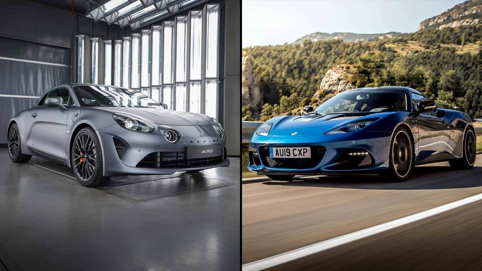 Alpine and Lotus