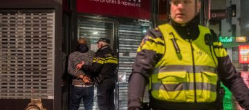 Anti-Curfew Protests In Netherlands Continue After Violent Clashes