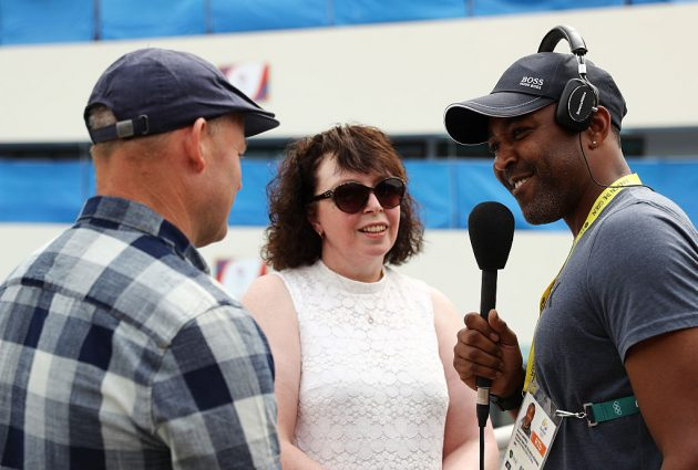 Campbell now works as a broadcaster for the BBC alongside running a sports supplements business and coaching