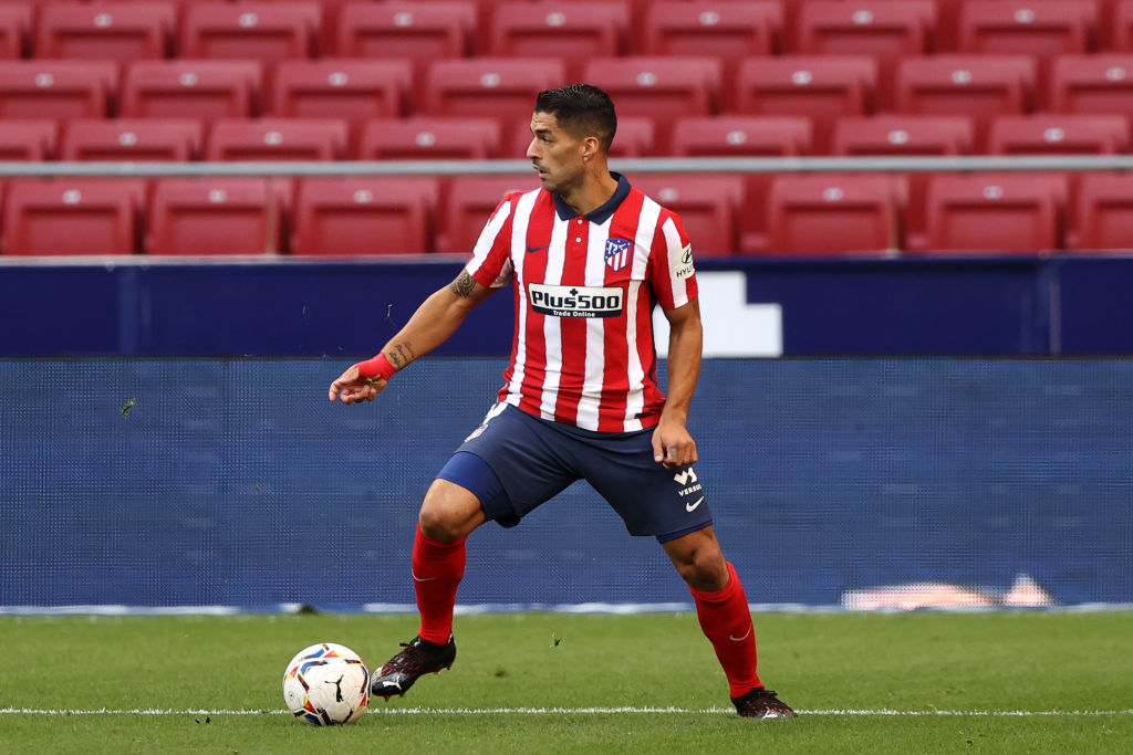 Luis Suarez of Atletico Madrid