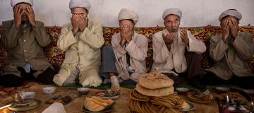 China's Uyghur Minority Marks Muslim Holiday In Country's Far West