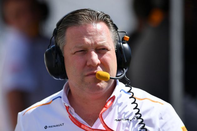 Zak Brown, chief executive of Formula 1 team McLaren, was targeted by hackers last year