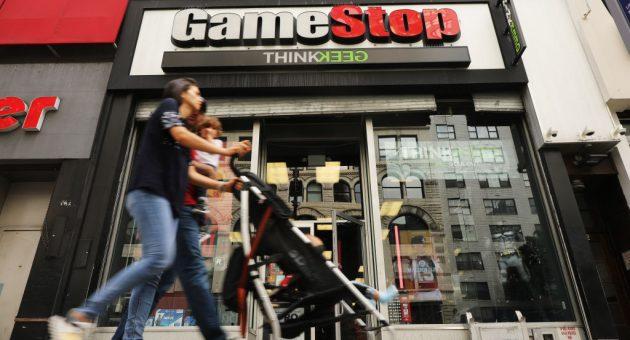 GameStop shares up 60 per cent in Reddit-driven bonanza