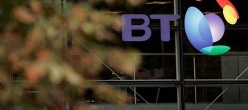 General View Of British Telecom Head Quarters