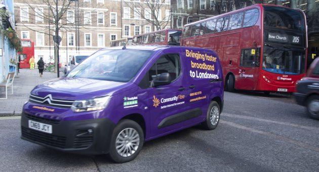 Broadband firm Community Fibre launches London TV service