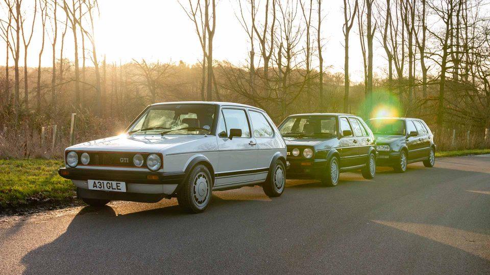 Volkswagen Golf GTI group test