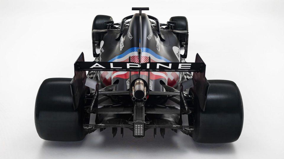 Alpine F1 car