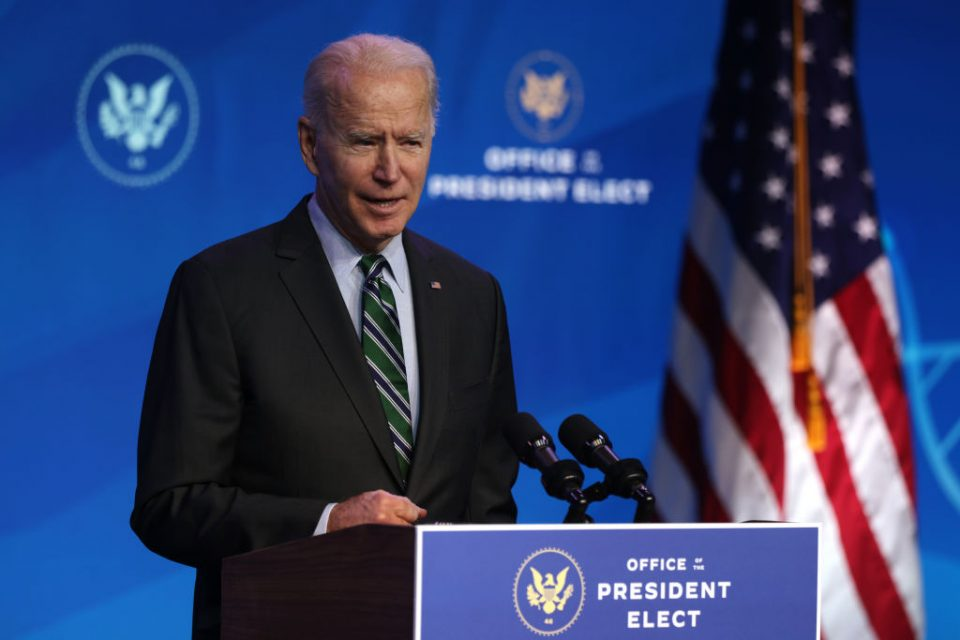 President-Elect Biden Introduces Key Members Of Upcoming Science Team