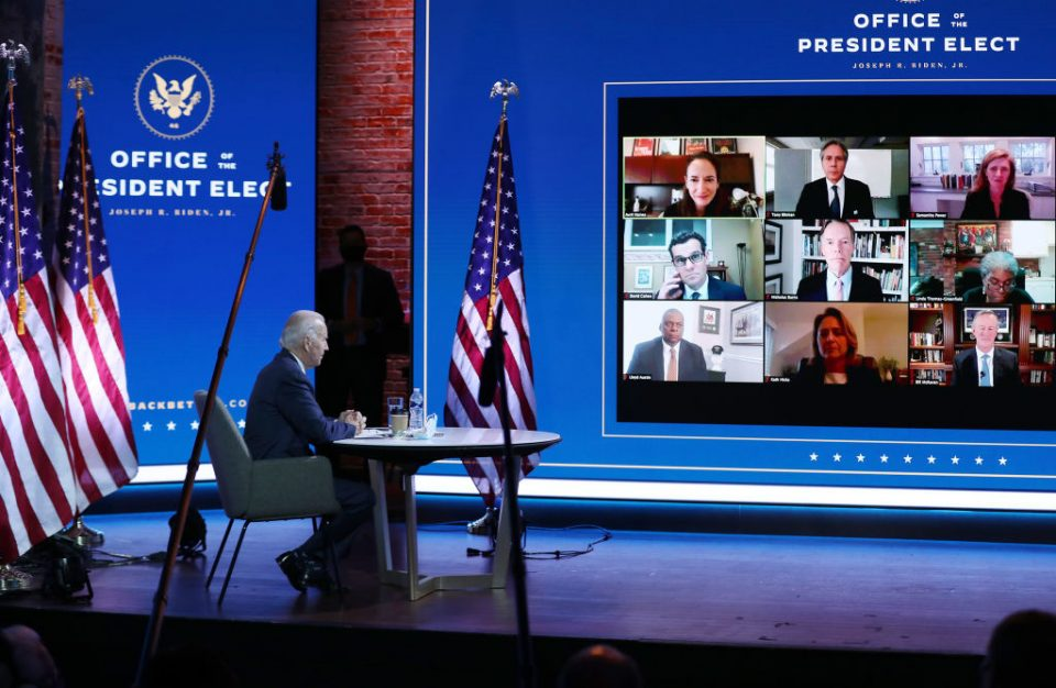 President-Elect Biden Receives National Security Briefing