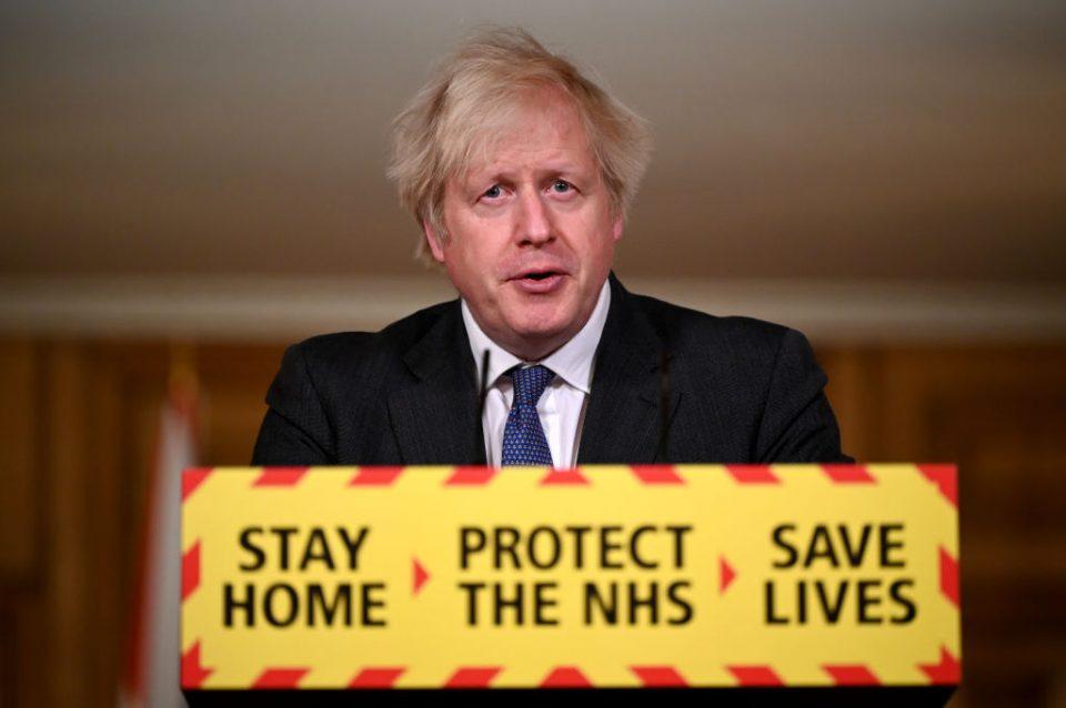 Prime Minister Boris Johnson Leads Coronavirus Press Conference