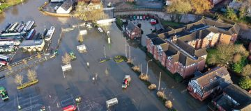 Residents Clear Storm Christoph Flood Damage