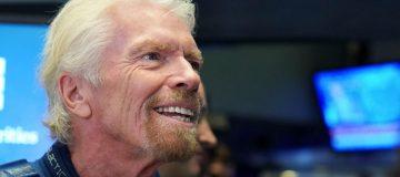 Sir Richard Branson Rings Opening Bell As Virgin Galactic Holdings Joins NYSE