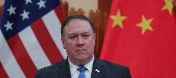 U.S. Secretary Of State Pompeo Visits China