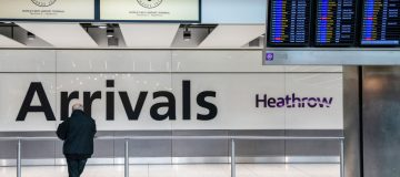 Just 22.1m passengers passed through Heathrow Airport in 2020, it was revealed today, a 73 per cent fall year-on-year.