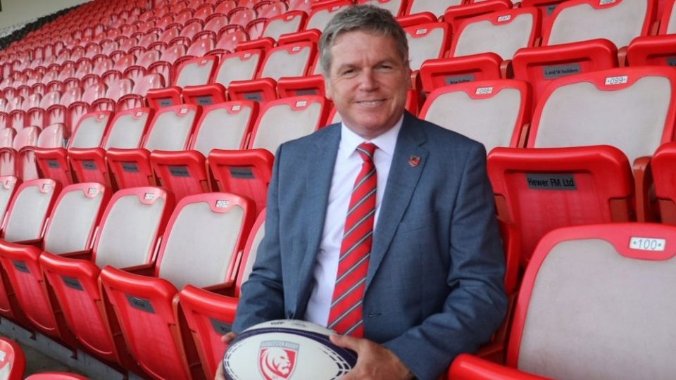 Gloucester chief executive Lance Bradley took up the role in September 2019 after 30 years in the motor industry