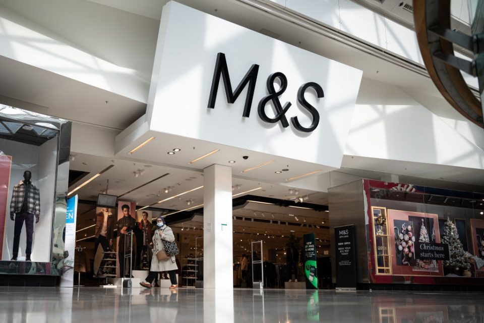 Marks and Spencer (M