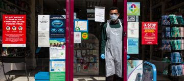 UK In Fourth Week Of Coronavirus Lockdown As Death Toll Exceeds 10,000