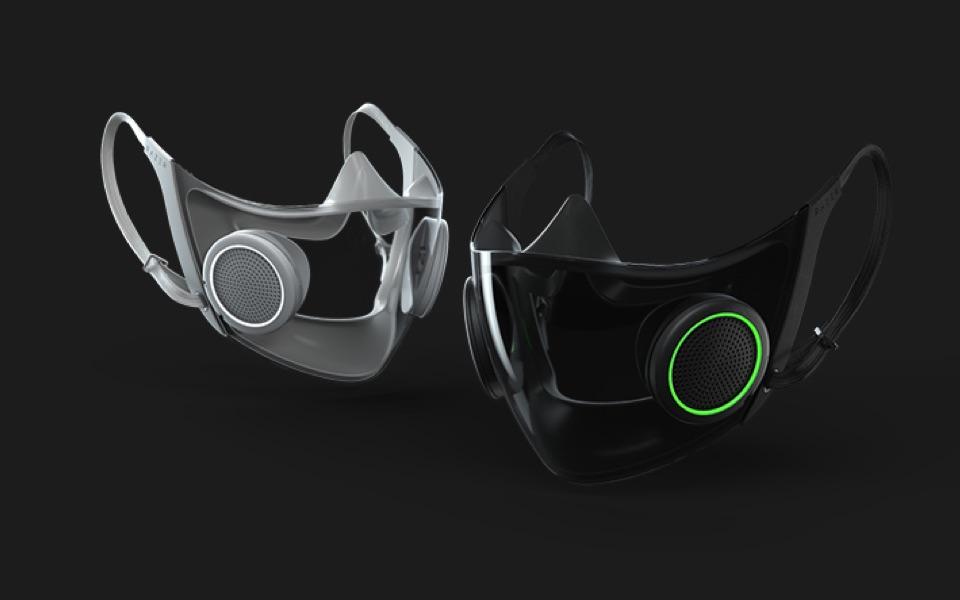 Razer face mask at CES 2021