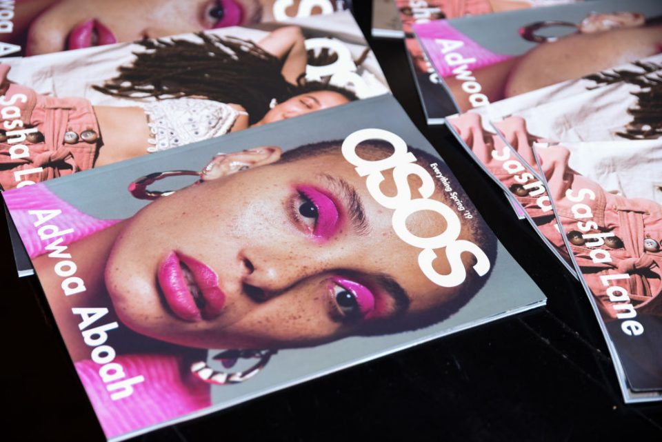 Sales at fashion retailer Asos surged in the four months ending in December as the online shopping boom continued amid the coronavirus pandemic.