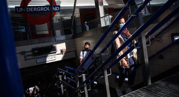People falling off escalators sends TfL injury numbers up