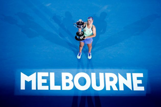 American Sofia Kenin won the women's singles title at the Australian Open last year, pocketing more than £2m