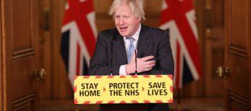 Boris Johnson And Chief Scientific Advisor Hold Coronavirus Press Conference