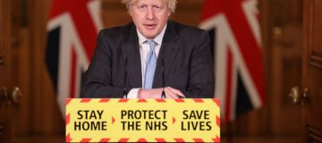 Boris Johnson And Chief Scientific Advisor Hold Coronavirus Press Conference
