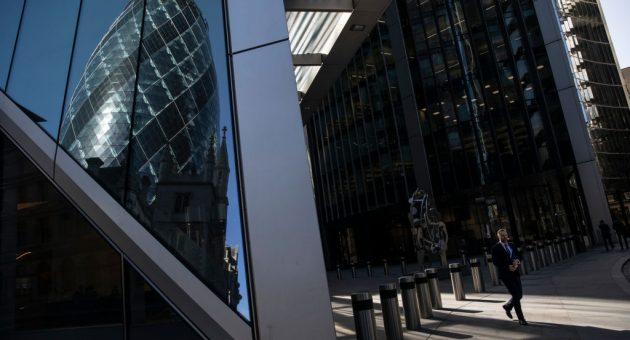 FTSE 100 gains despite record slump in UK GDP