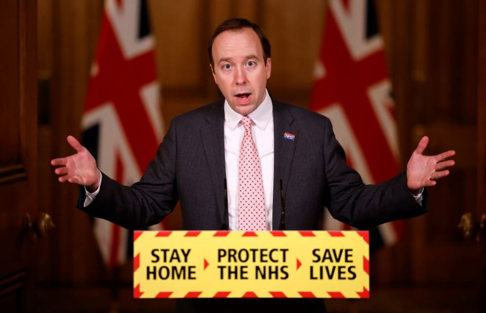 Coronavirus Update Press Conference From Downing Street