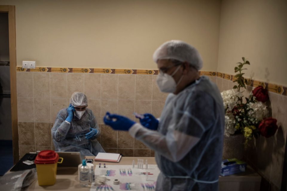 Covid-19 Vaccine Roll-out In Rural Spain