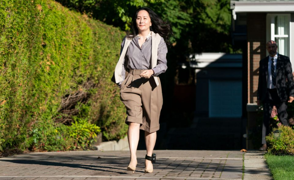 Huawei CFO Meng Wanzhou Returns To Court In Continued Fight Against Extradition